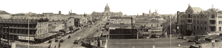 Congress Avenue in early 1900s